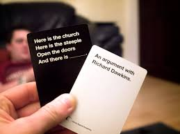 How do you play cards against humanity
