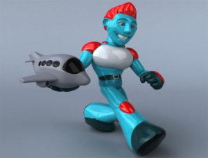 Plane landed using AI